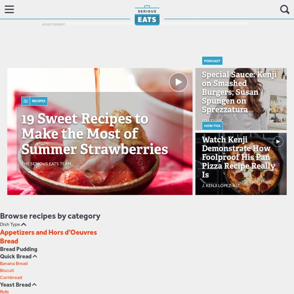Serious Eats: A Food Blog and Community