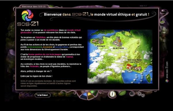 SOS-21 - Serious game pour le développement durable