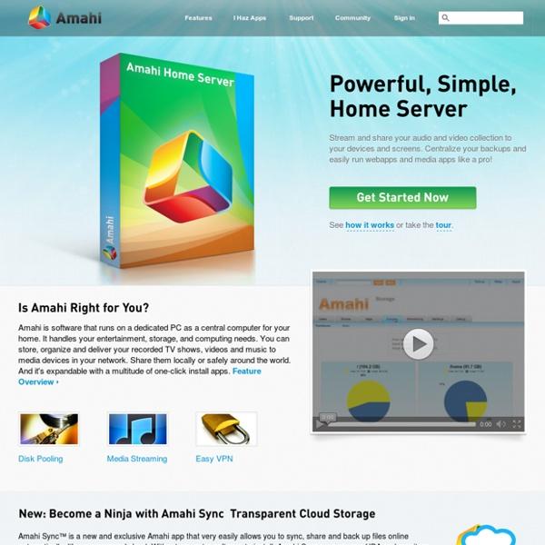 Amahi Home Server - Making Home Networking Simple