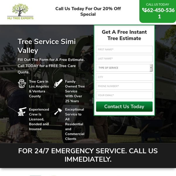 Tree Service Removal Simi Valley & Tree Trimming [Voted #1] □