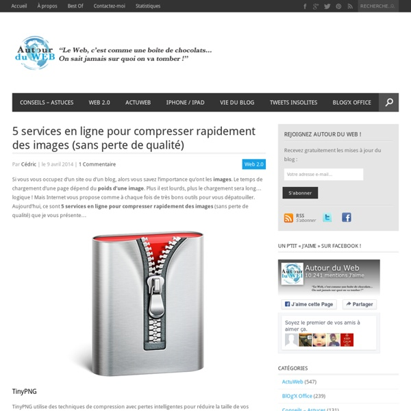 5 services en ligne pour compresser rapidement des images (sans perte de qualité)