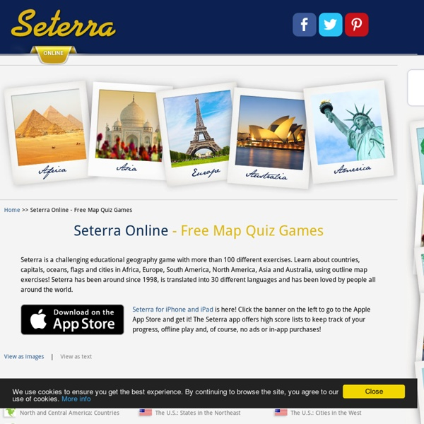 Online - Free Map Quiz Games