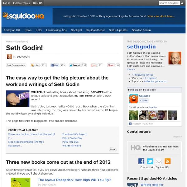 Seth Godin!