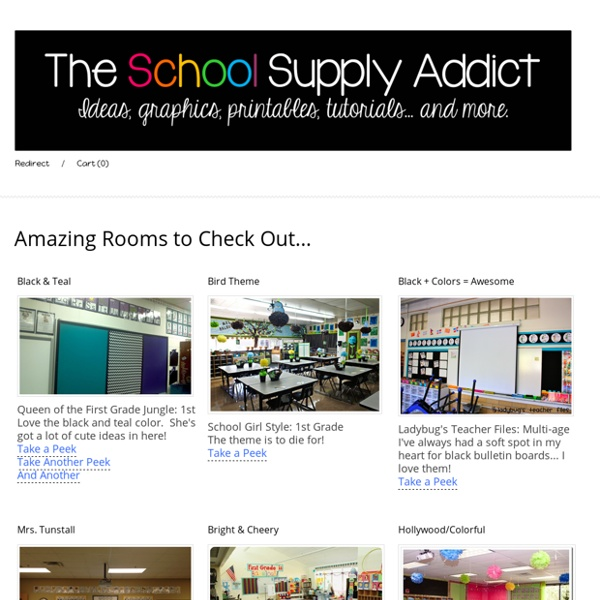 Room Setup - The School Supply Addict