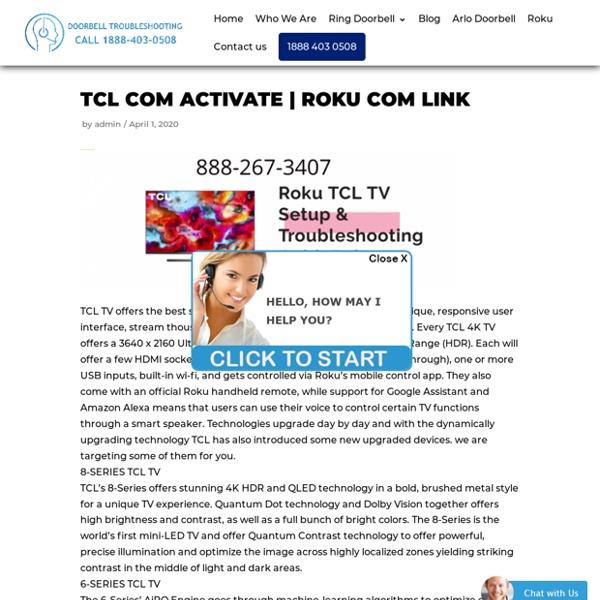 ROKU TCL TV SETUP & TROUBLESHOOTING GUIDE ROKU