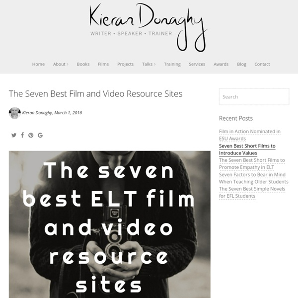 The Seven Best Film and Video Resource Sites - Kieran Donaghy