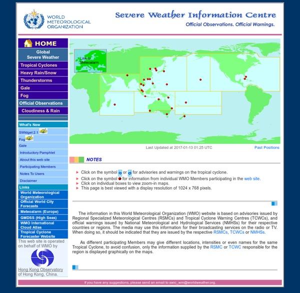 Centro de informacion de alteraciones climaticas