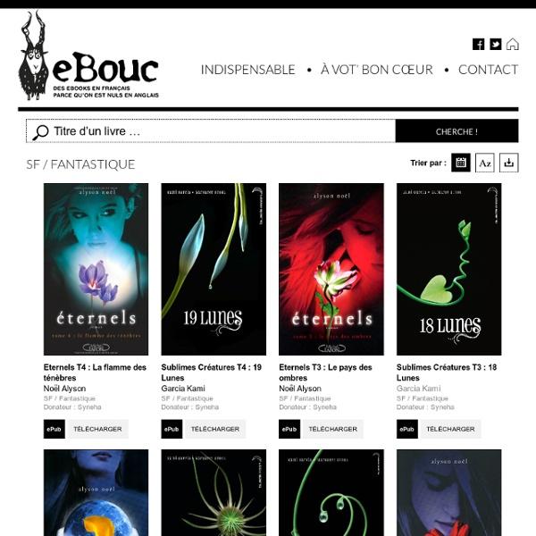 SF / Fantastique Archives - eBouc