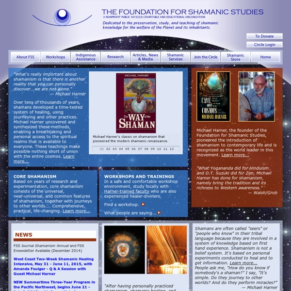 Foundation for Shamanic Studies founded by Michael Harner