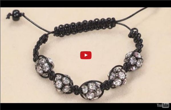 How To Make A Shamballa Style Bracelet
