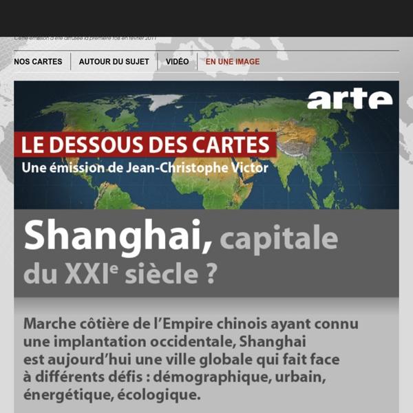 SHANGHAI : CAPITALE DU XXIe SIÈCLE