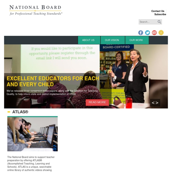 National Board for Professional Teaching Standards: National Board for Professional Teaching Standards
