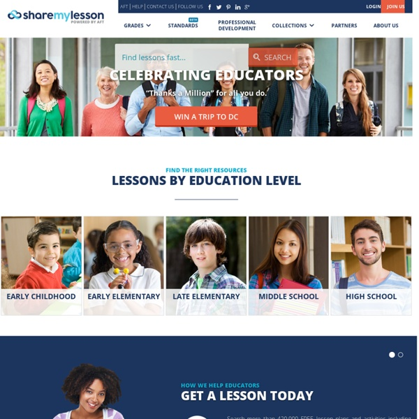 Share My Lesson - Free K-12 Resources By Teachers, For Teachers