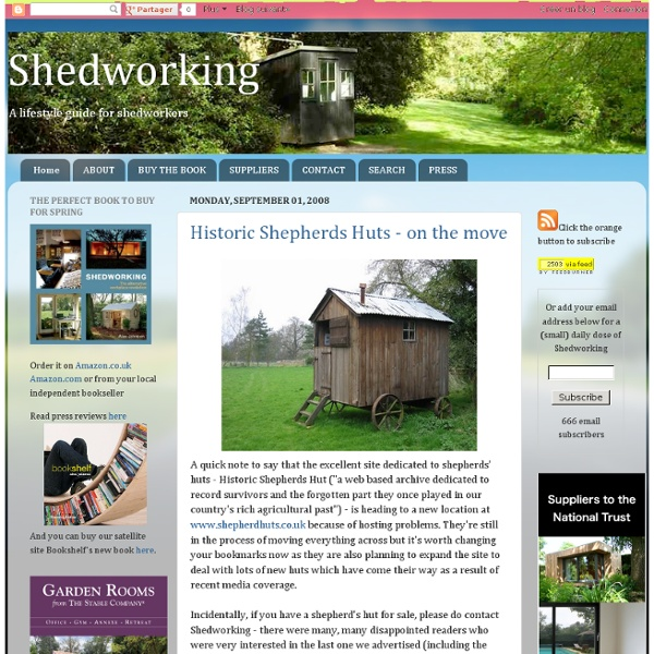 Historic Shepherds Huts - on the move