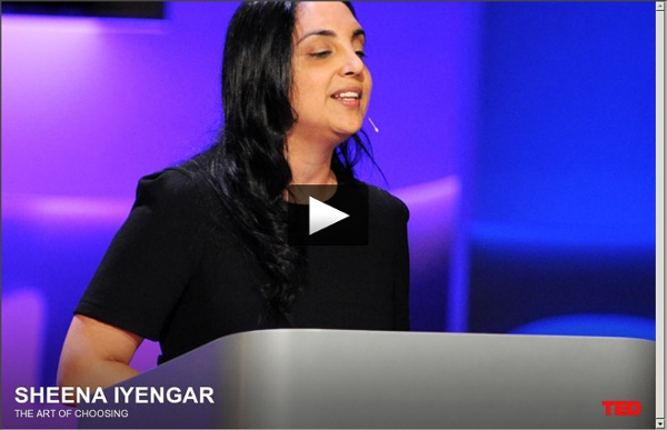 Sheena Iyengar on the art of choosing