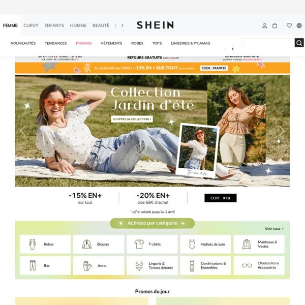 SheIn(Sheinside) Tendance Mode