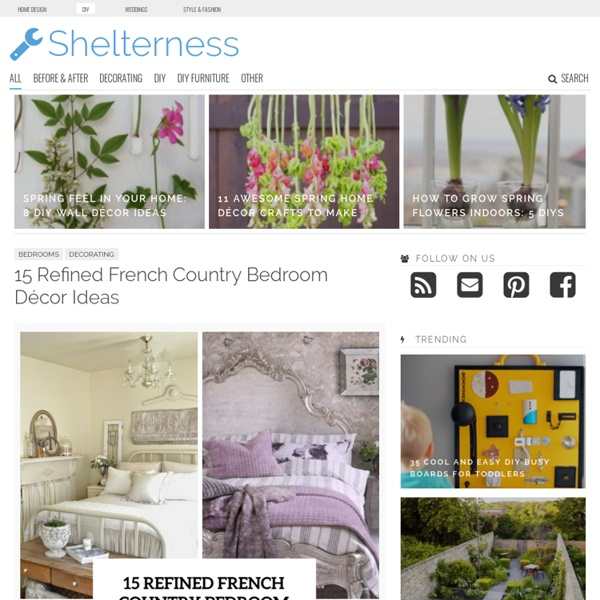 Decorating, DIY, Room Design Ideas - Shelterness