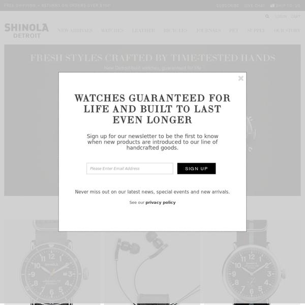 Shinola – Where American is Made