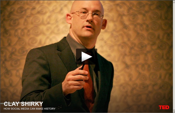 Clay Shirky: How social media can make history