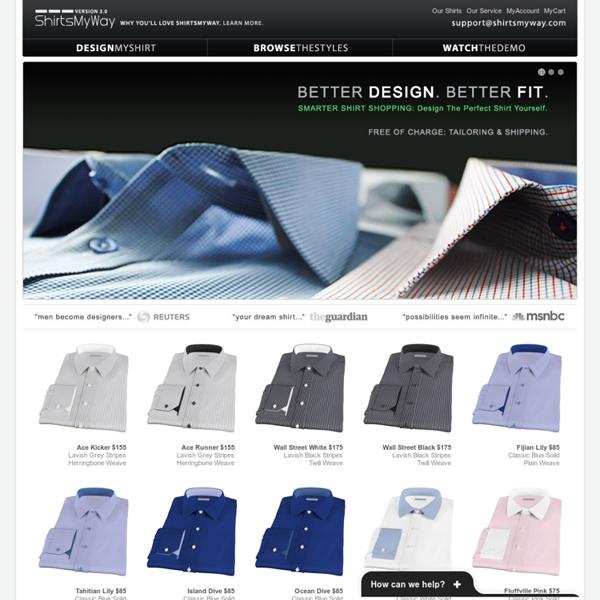 Men 39 s dress shirts custom dress shirts tailor made for Tailor made shirts online