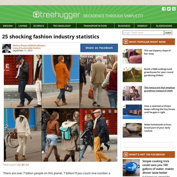25 Shocking Fashion Industry Statistics