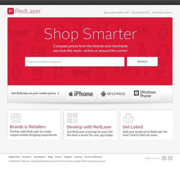Global leader in mobile shopping and scanning - RedLaser