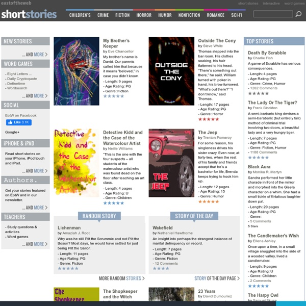Short stories at east of the web