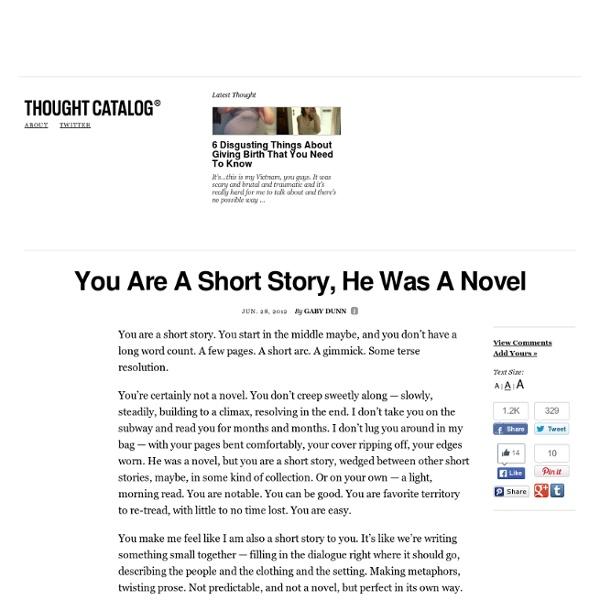 A novel story
