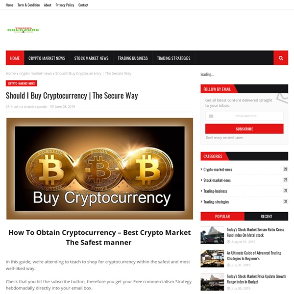 Should I Buy Cryptocurrency