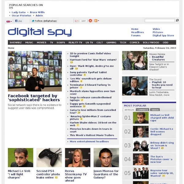 showbiz entertainment and media news digital spy digitalspy screenshot