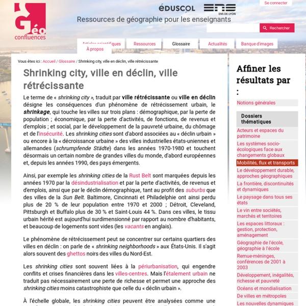 Shrinking city