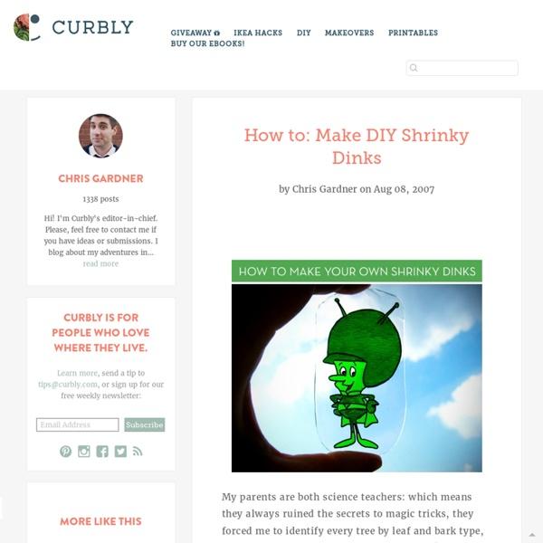 DIY Design Community « Keywords: shrinky_dink, how-to, DIY, art
