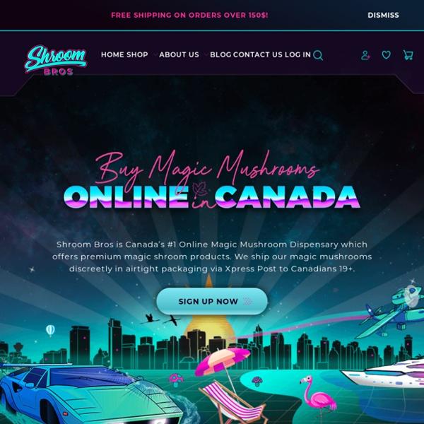 Buy Magic Shrooms Canada, Online Mushrooms Canada - Shroom Bros