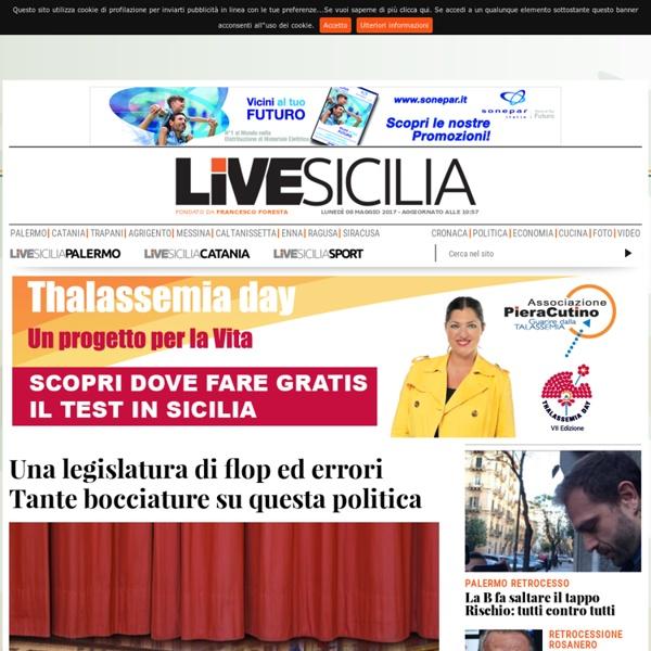 Live Sicilia: Quotidiano Sicilia - Cronaca Sicilia, Giornale di Notizie
