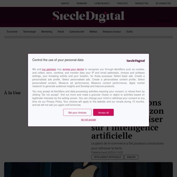 L'essentiel de l'actualité technologique, publicitaire et digitale en français.