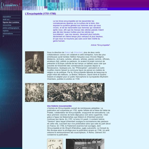 Bnf - L'Encyclopédie [ressource]