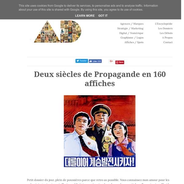 Deux siècles de Propagande en 160 affiches