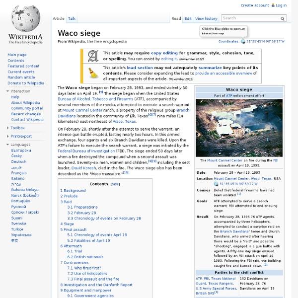 Waco siege