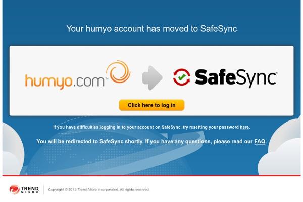 Humyo.com - Free Online Data Storage & Backup Space