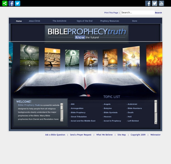 Bible Prophecy Truth > Home
