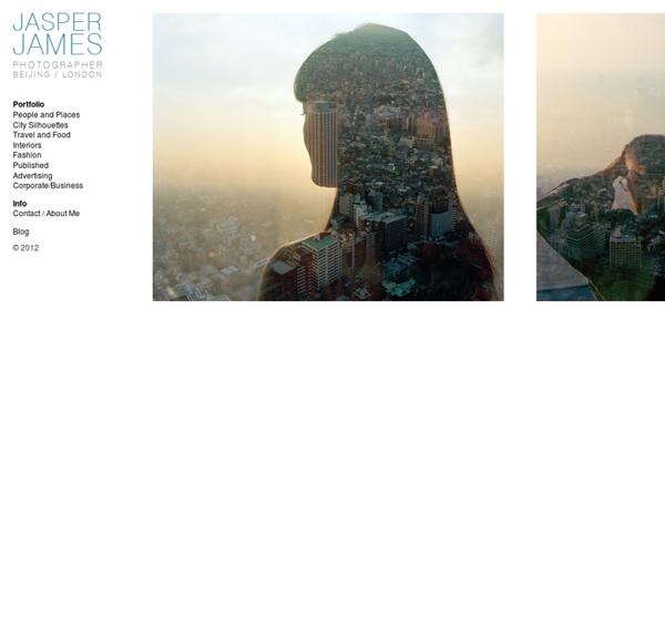 City Silhouettes : JASPER JAMES - PHOTOGRAPHER - BEIJING CHINA (+86) 15910926348