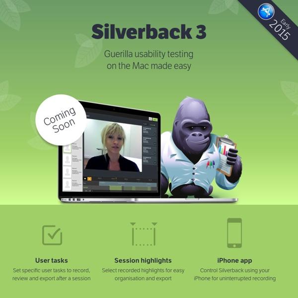 Silverback — guerrilla usability testing