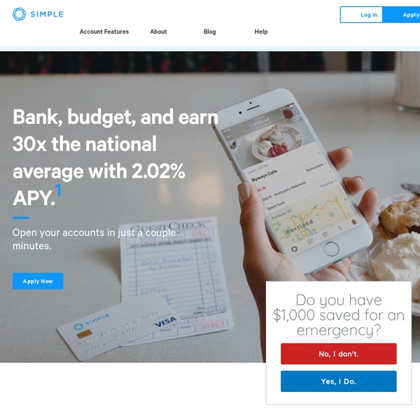 Online Banking With Automatic Budgeting & Savings