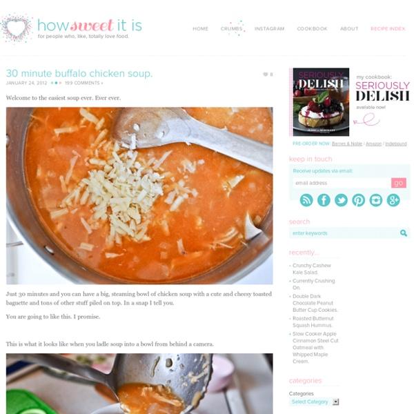 Simple Buffalo Chicken Soup Recipe