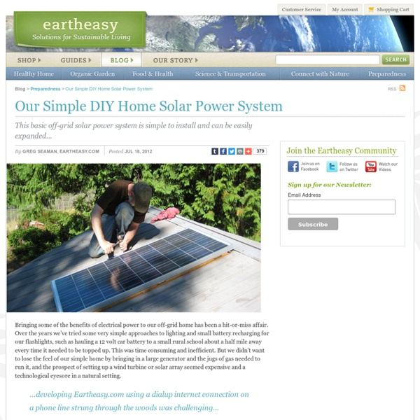 diy residential solar systems - photo #45