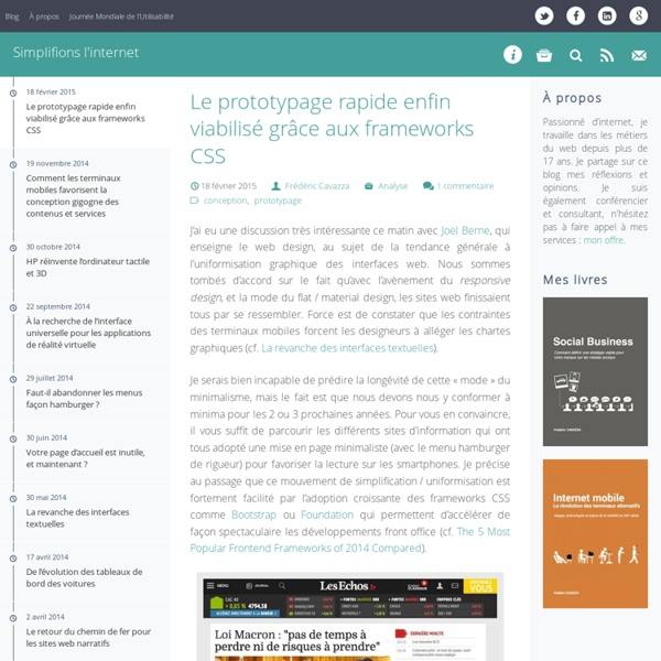 SimpleWeb.fr - Simplifions l'internet SimpleWeb.fr