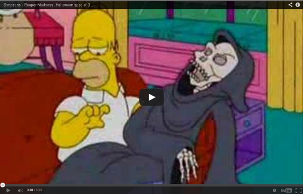 Simpsons - Reaper Madness, Halloween special (fast forward)