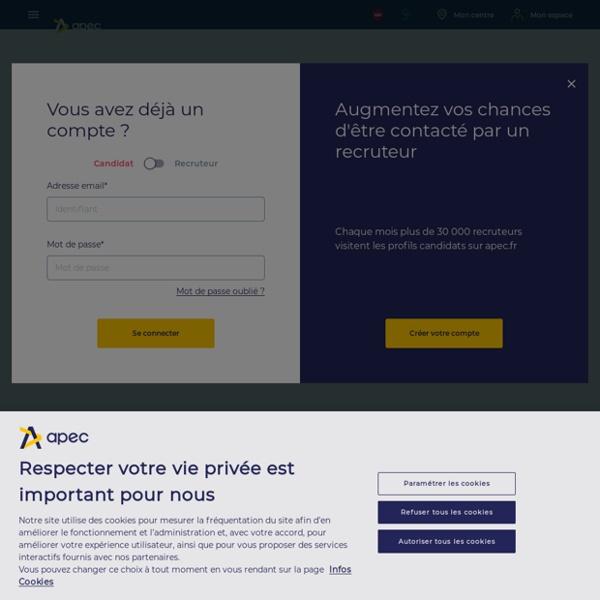 Simulateur d'entretien de recrutement - APEC
