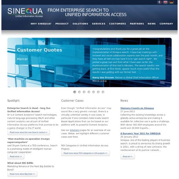 Sinequa.com