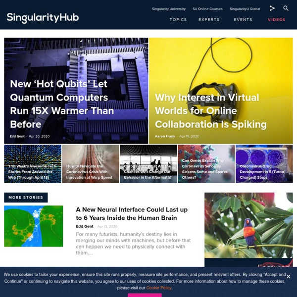 Singularity HUB